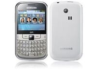 Lost white Samsung S3350 mobile phone on Bus33/Reading Town Centre!!