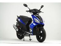 AJS FLIGHT 125CC SCOOTER, NEW, FINANCE AVAILABLE, 1 YEAR WARRANTY, LEARNER LEGAL