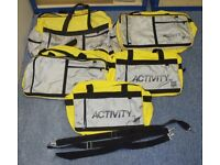 5 x BIBA holdalls + Other unbranded Holdalls and Hand Bags - All in Good to unused condition