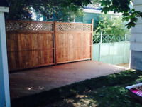 Let KDS build you a Deck/Fence in HRM that you can be proud of!