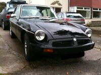 Black MGB GT