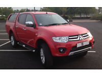 2015 Mitsubishi L200 Challenger Double Cab Pickup 4WD NO VAT, T/BAR, WARRANTY