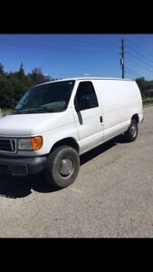 Ford E-250 mint with safety and Etest
