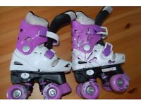Girls guad skates 28-31
