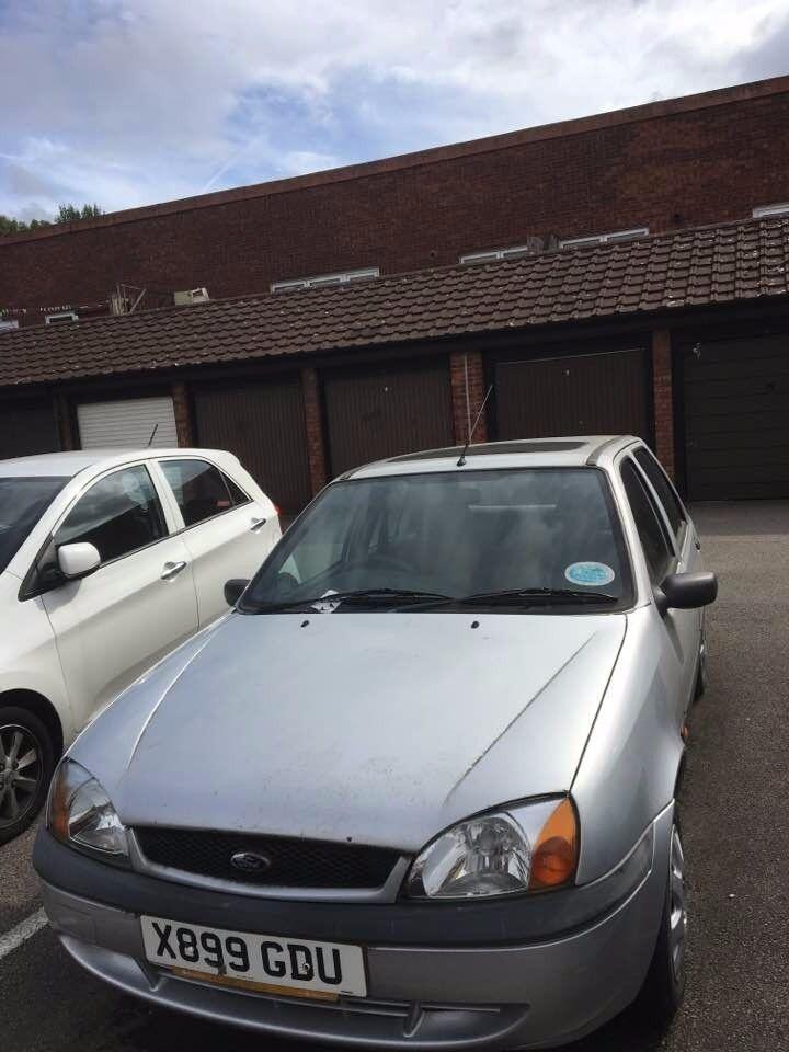 Ford Fiesta Silver 4 door