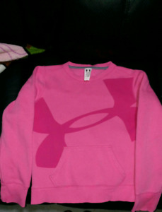 Girls Youth Medium Under Armour Sweatshirt