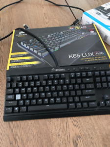 Clavier Corsair K65 LUX RGB Compact Mechanical