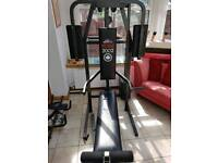 Weight bench and ab trainer