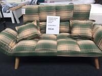Ex display item small sofa bed