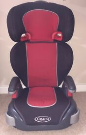 Graco red and black car seat X2