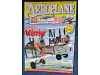 Large quantity of 'Aeroplane' magazines some from the eighties. All in good condition.