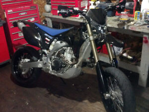 2008 Yamaha WR450f, motard kit and off road kit (Street title)