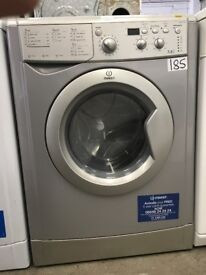 Indesit Ecotime Washer Dryer, IWDD7123S, 7KG Load, Silver