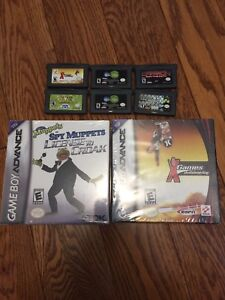 Lot of 8 Gameboy Advanced Games