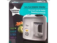 Baby Food Blender/Steamer (NEW) Tommee Tippee