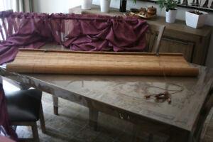 Toile en bois/bambou