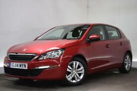 PEUGEOT 308 1.6 HDI ACTIVE 5d 92 BHP (red) 2014