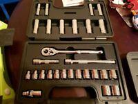 Halfords 28 piece Socket set advance range