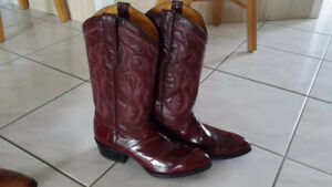 Mexican boots (genuine eel skin)