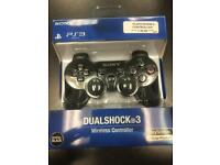 SONY PS3 DUALSHOCK 3 CONTROLLERS *BOXED* ALL COLOURS