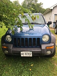 2004 Jeep Liberty 4x4 (as is)