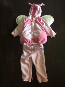 Adorable Pink Love Bug Costume 12-24 months