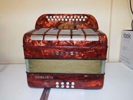 Hohner Gaelic IV accordion