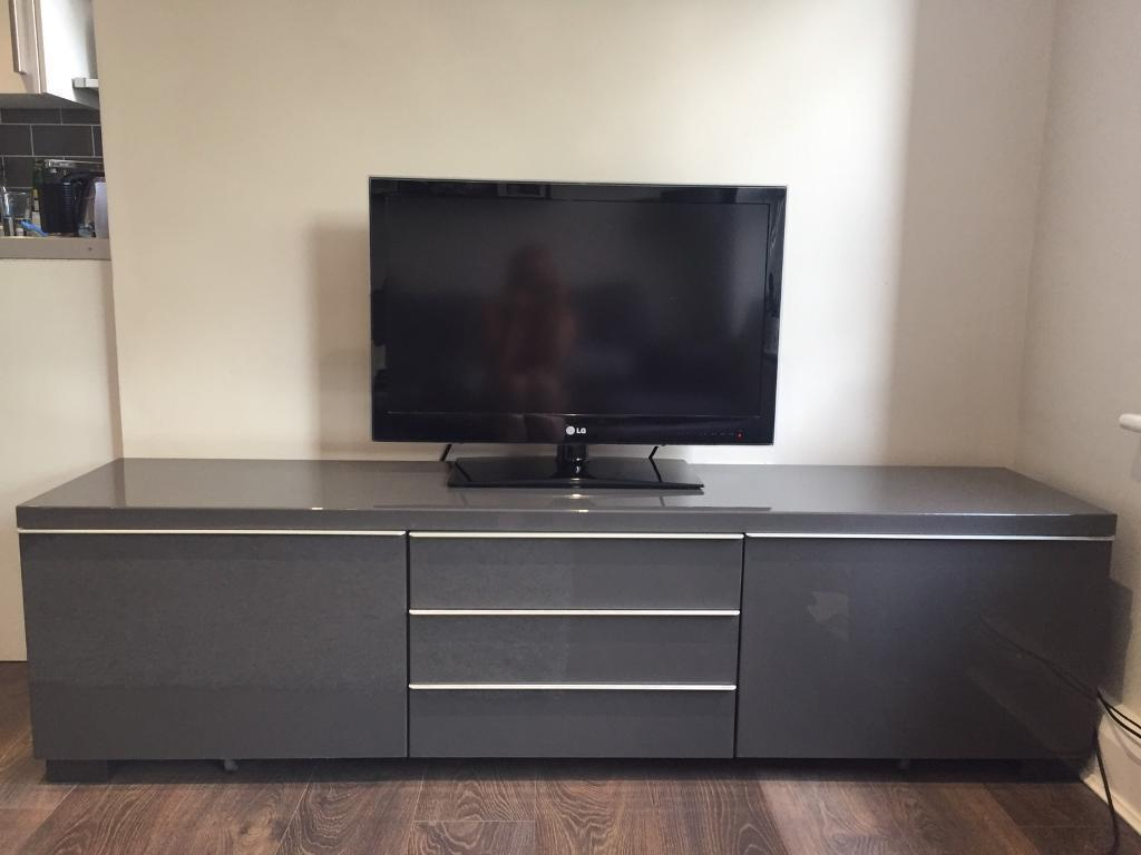 ikea besta burs grey tv bench in crystal palace london gumtree. Black Bedroom Furniture Sets. Home Design Ideas