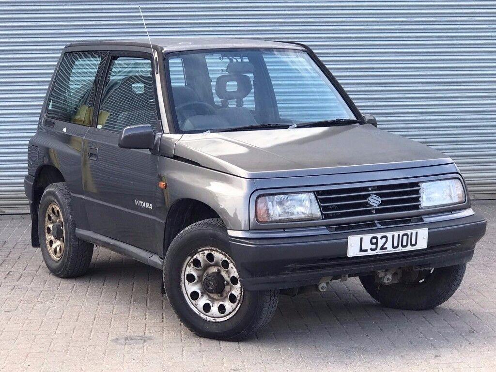 1994 suzuki vitara jlx 1 6 engine 3 door hard top service history new mot