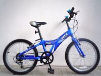 "FREE Lights with (2665) 20"" Lightweight Aluminium GIANT BOYS GIRLS BIKE BICYCLE Age: 6-9, 120-135 cm"
