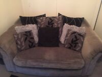 Grey 3 seater and 2 seater sofa EXCELLENT CONDITION BARGIN