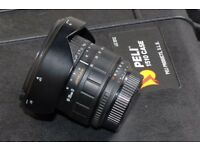 Full frame nikon lens 18-35 mm