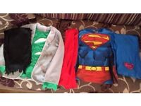 HALLOWEEN/DRESS UP COSTUMES (AGE 7-8) (GREAT CONDITION)