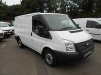 Ford Transit Low Roof Van Tdci 125Ps DIESEL MANUAL WHITE (2014)