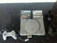 PS1 - 2 Games - Tested Fully Working.