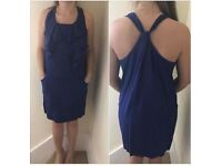 Whistles blue dress size 10