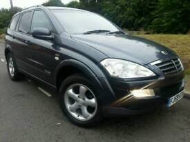 SSANGYONG KYRON SPORT 2.7 CDI 4WD*2009 59*AUTO/TIPTRONIC*NEW SHAPE*MINT COND#JEEP#SUV#MERCEDES ML#X5