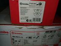 Brembo disks and pads
