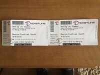 2 x Adult camping weekend Rewind Festival tickets