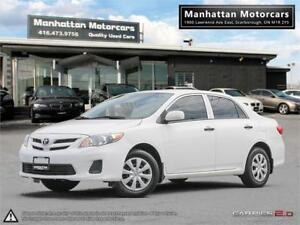 2011 TOYOTA COROLLA CE AUTOMATIC  FUEL EFFICIENT ONLY 114,000KM