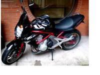 Kawasaki er650n £1895