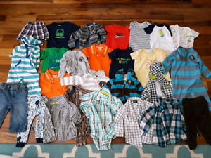 12 month old boys clothing - $50 for whole set