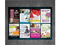 10,000 A5 Flyers Printed & Designed - Double Sided Full Colour