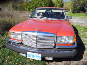 MERCEDES BENZ 450SEL 6.9 RARE SEDAN 1 OF 7380 MADE MANY NEW PART