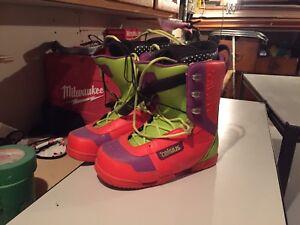 Snowboard Ride avec fix et botte celsius