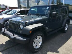 Jeep Wrangler Unlimited Cabriolet - Convertible 4 RM, 4 portes,