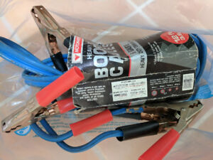 Heavy duty booster cables