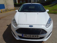 2013, FORD FIESTA 1.0 ZETEC 5d 79 BHP FULL SERVICE RECORD, PARKING AID 1 PREVIOUS OWNER, 2 KEYS