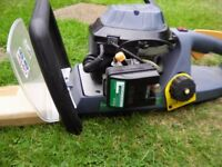 HEDGE TRIMMER petrol, never used