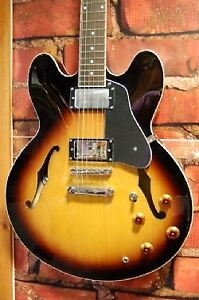 Vintage brand 335 style guitar w/hsc for trade